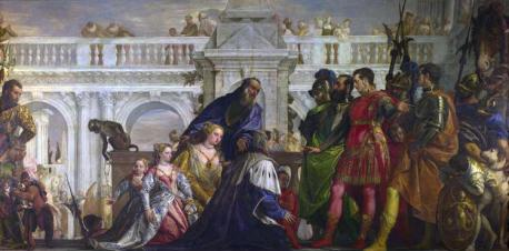 The_Family_of_Darius_before_Alexander_by_Paolo_Veronese_1570