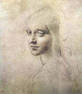 Leonardo head-of-a-girl