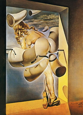 Dali-00316-Salvador_Dali_Young Virgin Auto-Sodomized by the Horns of Her Own Chastity,1954