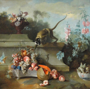 Still_Life_with_Monkey_Fruits_and_Flowers_1724_by_Jean-Baptiste_Oudry_-_Art_Institute_of_Chicago_-_DSC09427