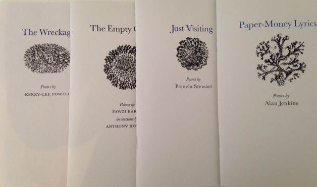 Grey Suit chapbooks
