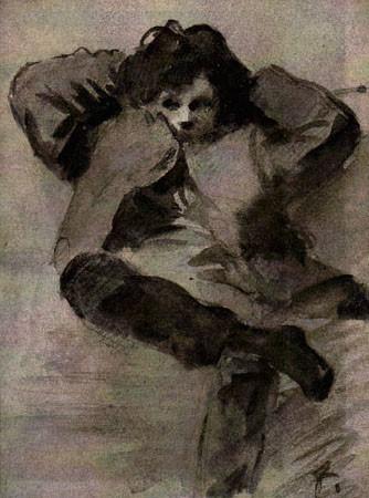 Rimbaud by Forain